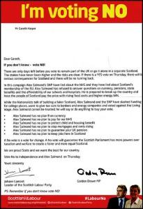 Labour Letter